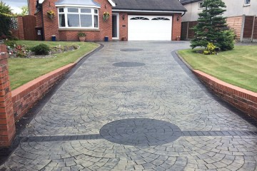 Pattern Imprinted Driveways