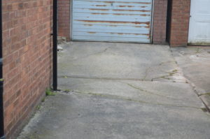 a1. driveway before